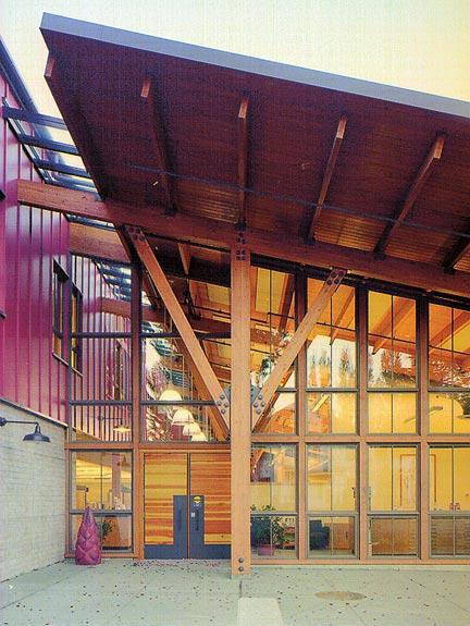 Miller hull community center architecture pinterest - Maison davis miller hull partnership ...