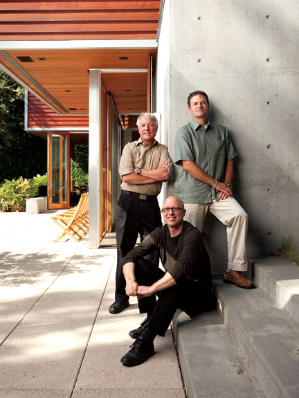 Outside in architecture of the pacific northwest spring - Maison davis miller hull partnership ...