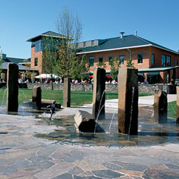 Fountain at WSU Vancouver. <em>Robert Hubner</em>