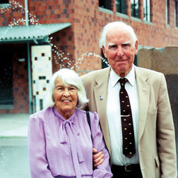 Ed and Mary Firstenburg. <em>Robert Hubner</em>