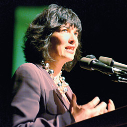 Christiane Amanpour. By Shelly Hanks