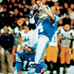 Jason Hanson. Photo courtesy of Detroit Lions