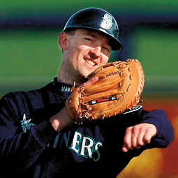 John Olerud. photo courtesy of Seattle Mariners.