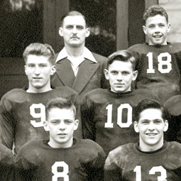 All-city High School football champions, 1943. Photo courtesy of Jane Nollan Morelock '51