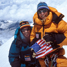 Phil and Sue Ershler conquered Mount Everest on May 16.