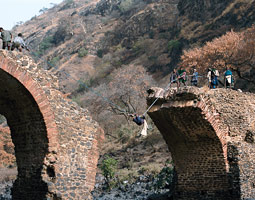 The Second Portuguese Bridge in Ethiopia before repair. Zoe Keone