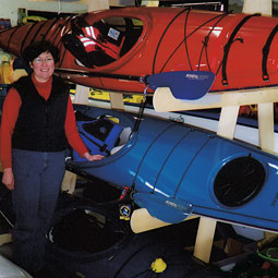 Pamela Robertson is vice president of the largest canoe and kayak dealership in Atlantic Canada.