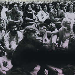Some 5,000 WSU students attended a racism workshop in October 1970.