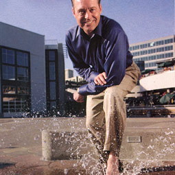 As president of General Construction Company, Ron Morford is making a splash in Puget Sound.
