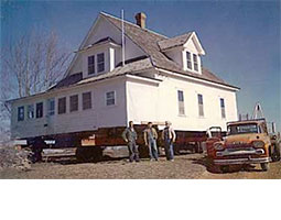 According to author Pamela Smith Hill, this is the house that inspired the story below.