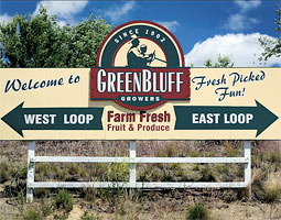 sign to greenbluff