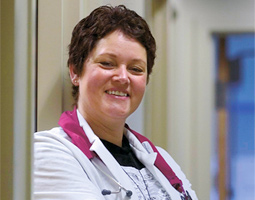 Debbie Weeks spends 30 to 40 percent of her time recruiting patients into the ACCORD trial.