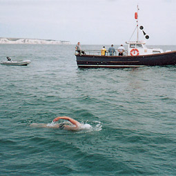 swimming the channel