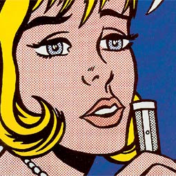 <em>Reverie</em> (from the portfolio <em>11 Pop Artists,</em> Volume II), 1965, screenprint by Roy Lichtenstein.