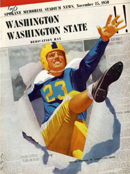 1950 Apple Cup game program