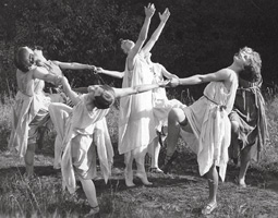 Interpretive Dance ca. 1925.
