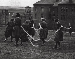 Field hockey, 1914.