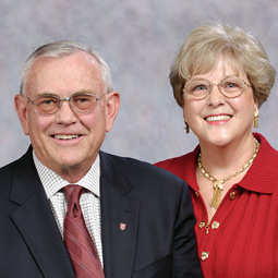 President V. Lane Rawlins with his wife Mary Jo.