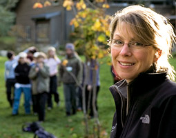Debbi Brainerd '79 has turned 255 acres on Bainbridge Island into a place where urban schoolchildren can play, learn, and explore in the natural world.
