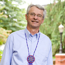 Author Richard Scheuerman '72. <em>Luke Rutan/Seattle Pacific University</em>