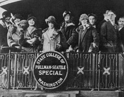 Pullman-Seattle WSC special