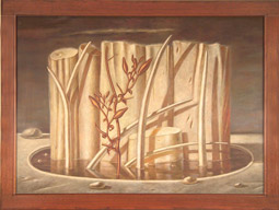 Robert Helm, <em>Iron Ground</em>, 1991, Collection of Washington State University Museum of Art.
