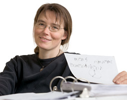 Blume's papers on fermions are referred to by so many other researchers that although she has been at WSU for only eight years, she is already among the University's most-cited scientists.