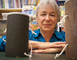 Judy Morrison helps teachers and students find science&rsquo;s creative side. <em>Zach Mazur</em>