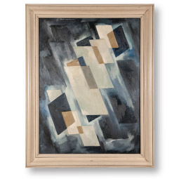 Worth D. Griffin abstract painting. <em>Courtesy WSU Museum of Art</em>