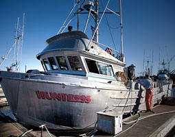 Toste's boat Huntress. <em>Bill Wagner</em>