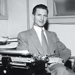 Henry Grosshans. <em>Courtesy WSU News Archives</em>