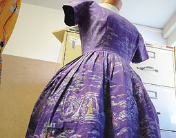 An Alfred Shaheen dress on loan to the AMDT historic costume collection. <em>Robert Hubner</em>