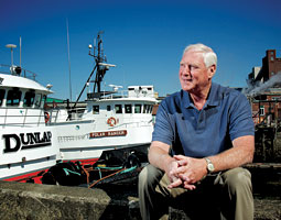 Jim Dunlap followed a family route into the business of tugboats on Puget Sound. <em>Matt Hagen</em>