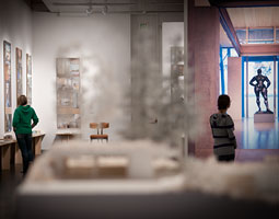Architect Jim Olson's work is featured at the WSU Museum of Art. <em>Zach Mazur</em>