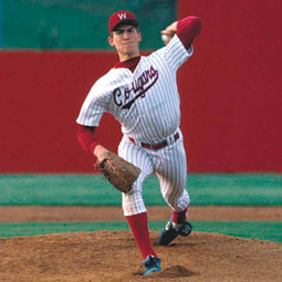 John Olerud as a Coug. <em>Courtesy WSU Athletics</em>