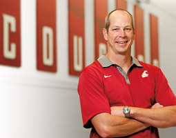 WSU swim coach Tom Jager <em>Robert Hubner</em>