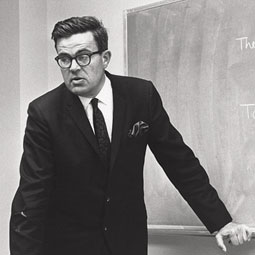 Don Bushaw early in his teaching career. <em>Courtesy WSU Department of Mathematics</em>