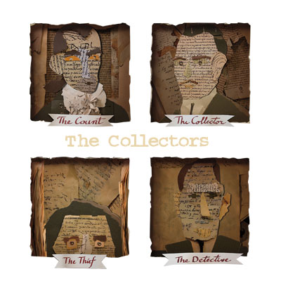 The Collectors. Illustration by David Wheeler