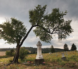 Chief Joseph of the Nez Perce&rsquo;s grave in Nespelem. <em>Zach Mazur</em>