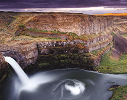 Palouse Falls. <em>Photo David Kingham</em>