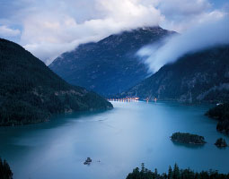 Diablo Lake. <em>Photo Zach Mazur</em>