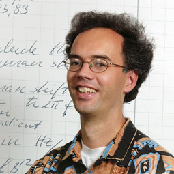 Physicist Peter Engels.