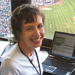 Associated Press's 2006 Sports Writer of the Year Janie McCauley '98 brings fresh perspective and energy to the press box with her current assignments in the Oakland area.