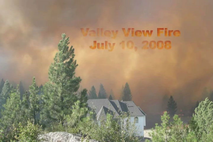 Valley View Fire 2008