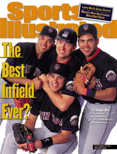 John Olerud on Sports Illustrated cover