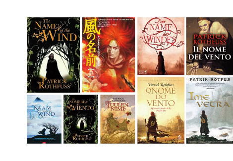 Covers of The Name of the Wind