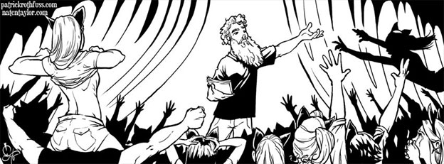 Rothfuss Facebook cover image. Courtesy Nate Taylor