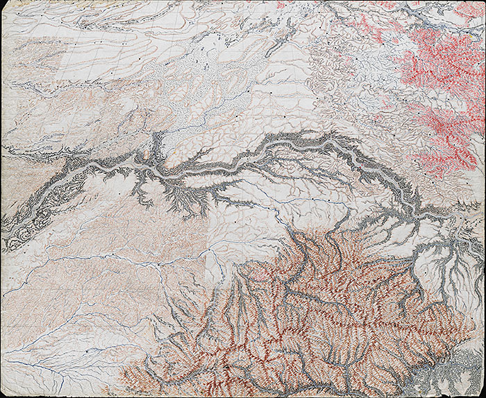 Mystery map of the Palouse - front